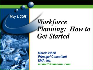 Workforce Planning:  How to Get Started