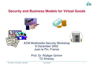 Security and Business Models for Virtual Goods
