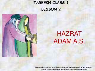 TAREEKH CLASS 1 LE SSON 2