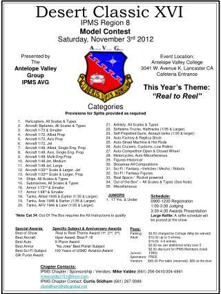 Saturday, November 3 rd  2012
