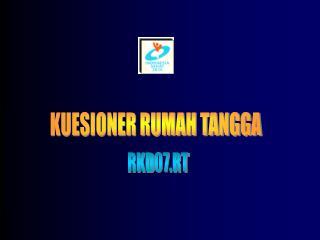 KUESIONER RUMAH TANGGA