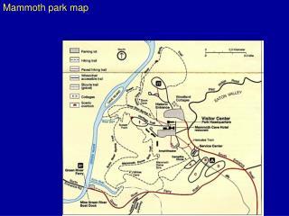 Mammoth park map