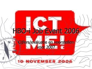 HBO-i Job Event 2006