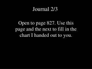 Journal 2/3