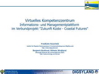 Virtuelles Kompetenzzentrum Informations- und Managementplattform