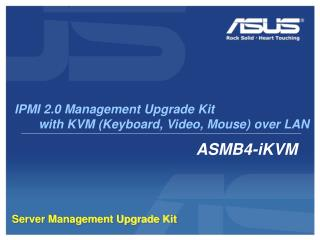 Server Management Upgrade Kit