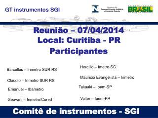 GT instrumentos SGI