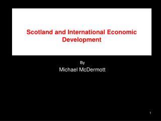 Scotland and International Economic Development