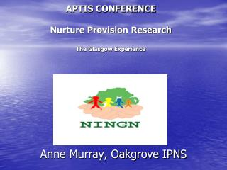 APTIS CONFERENCE  Nurture Provision Research The Glasgow Experience