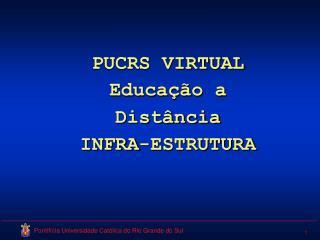 PUCRS VIRTUAL Educação a Distância INFRA-ESTRUTURA