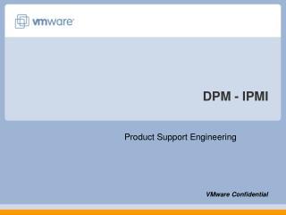 DPM - IPMI