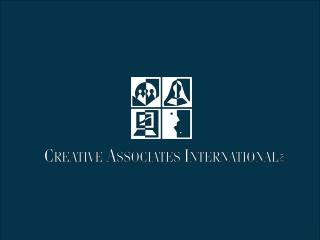 Creative Associates International  Travel Office