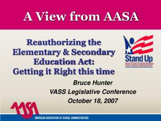 A View from AASA