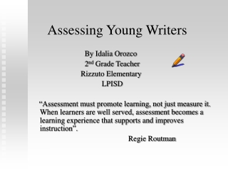 Classroom Assessments in Large Scale Assessment Programs