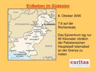 Erdbeben im S�dasien