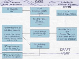 ICAP Individual-specific  criteria
