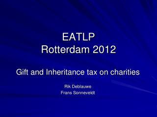 EATLP Rotterdam 2012