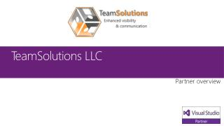 TeamSolutions LLC