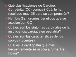 Soplo  inocente y Cardiopatías Congénitas
