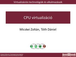 CPU virtualizáció