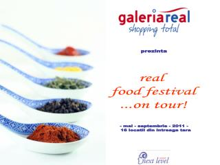 real  food festival ...on tour!