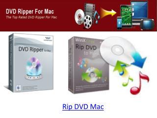 Rip DVD Mac