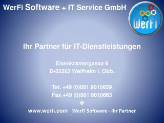 WerFi Software   Ihr Partner