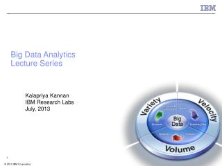 Big Data Analytics Lecture Series