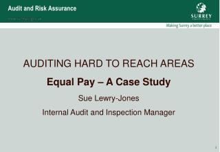 Audit and Risk Assurance