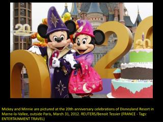 Disneyland Paris turns 20