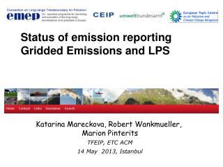 Katarina Mareckova, Robert  Wankmueller,  Marion Pinterits   TFEIP, ETC ACM 14 May  2013, Istanbul
