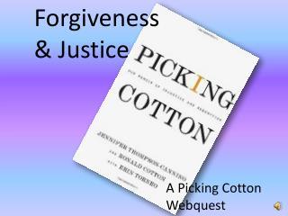 Forgiveness & Justice