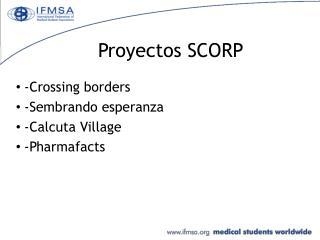 Proyectos SCORP