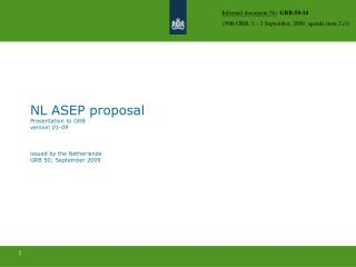ASEP Working Group