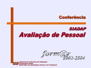 Conferência SIADAP