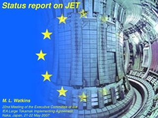 Status report on JET
