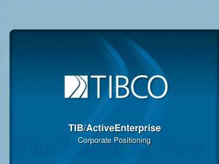TIB/ActiveEnterprise