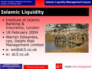 Islamic Liquidity