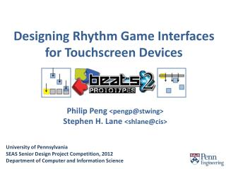 Designing Rhythm Game Interfaces for Touchscreen Devices