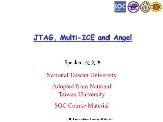 JTAG, Multi-ICE and Angel