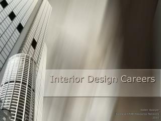 Interior Design Careers