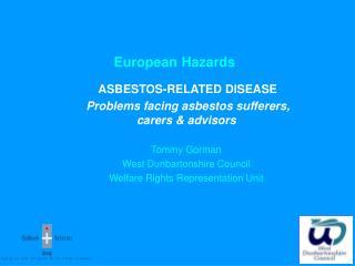 European Hazards