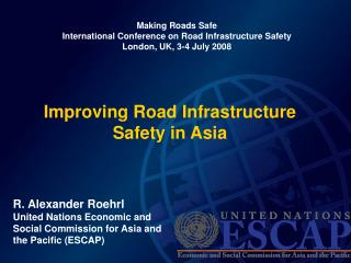 Improving Road Infrastructure Safety in Asia