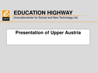 Presentation of Upper Austria