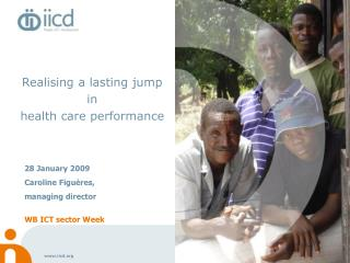 Realising a lasting jump in  health care performance