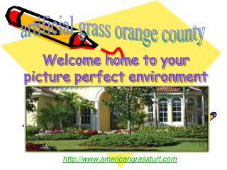 artificial grass orange county