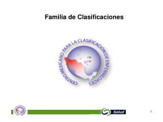 Familia de Clasificaciones