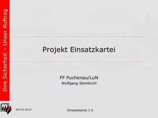 Projekt Einsatzkartei