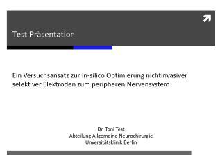 Test  P r�sentation