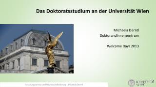 Das  Doktoratsstudium  an der Universität Wien